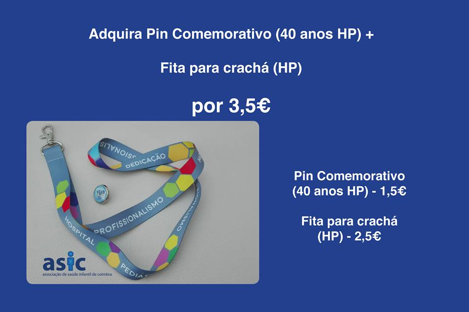 Pin / Fita cracha Comemorativos HP